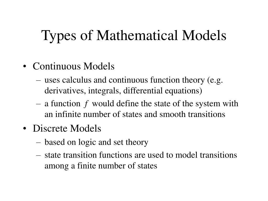 PPT - Mathematical Modeling and Formal Specification