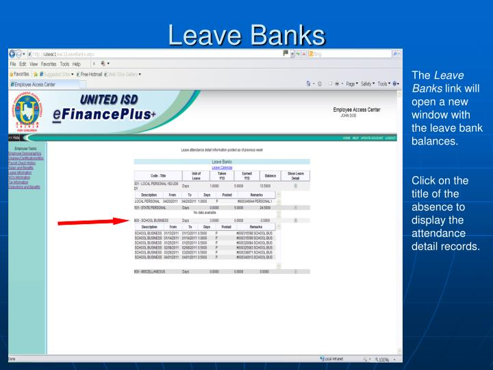 Leave Banks