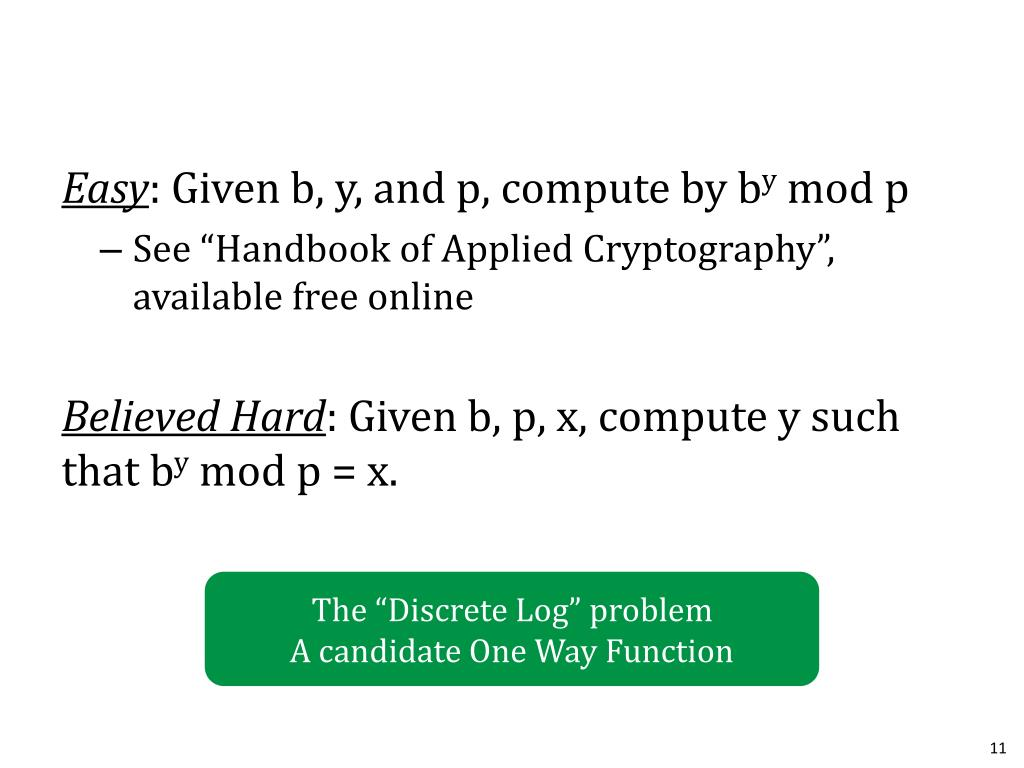 PPT - Public Key Cryptography PowerPoint Presentation - ID:1702708