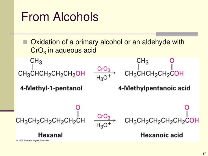 From Alcohols