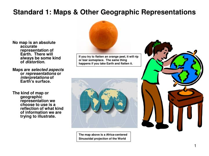 standard 1 maps other geographic representations n.