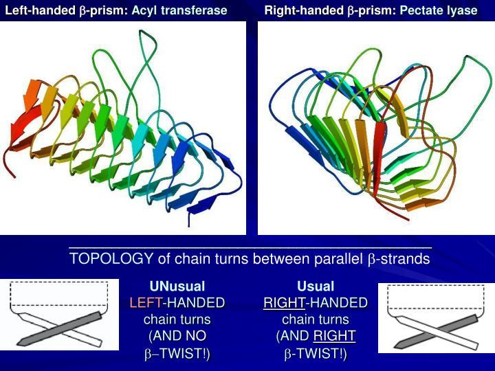 Left-handed -prism: