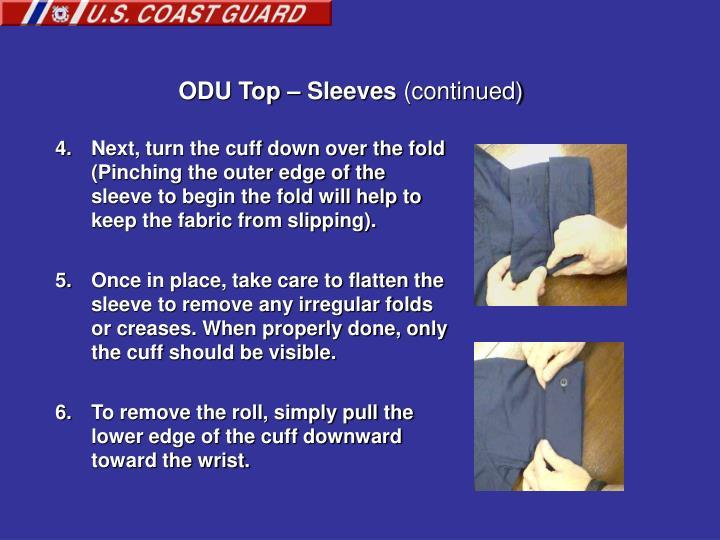 ODU Top – Sleeves