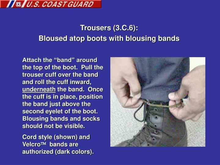 Trousers (3.C.6):