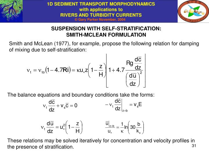 SUSPENSION WITH SELF-STRATIFICATION: