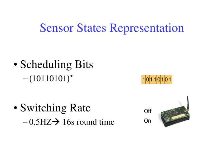 Sensor States Representation