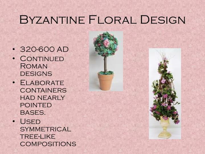 Ppt The History Of Floral Design Powerpoint Presentation Id1703018