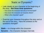static or dynamic3