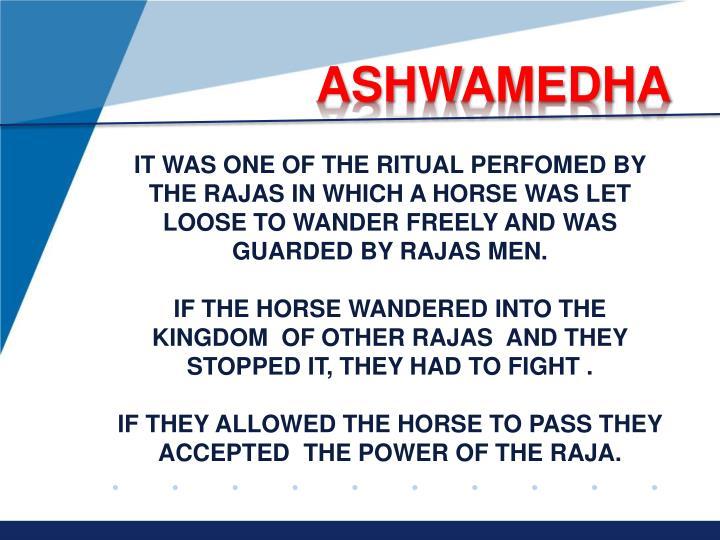 ASHWAMEDHA