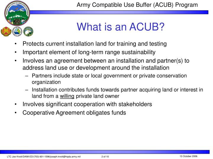 What is an acub