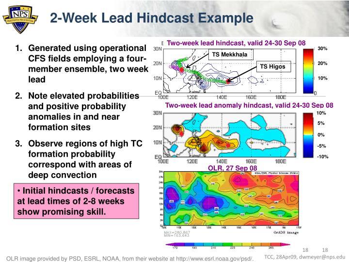 2-Week Lead Hindcast Example