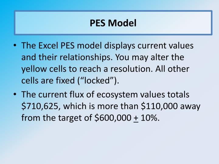 PES Model