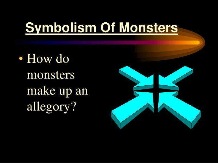Symbolism of monsters