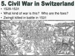 5 civil war in switzerland
