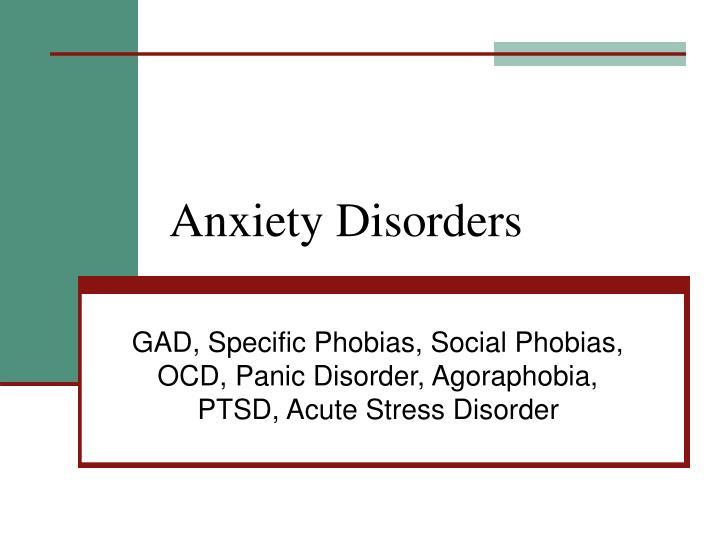 characteristics and treatment of panic disorder and agoraphobia Revolutionary panic disorder agoraphobia treatment with linden method panic disorder is an umbrella term that encompasses many situations, such as agoraphobia, posttraumatic stress disorder (ptsd), social phobia, obsessive compulsive disorder (ocd), separation anxiety, insomnia, mood.