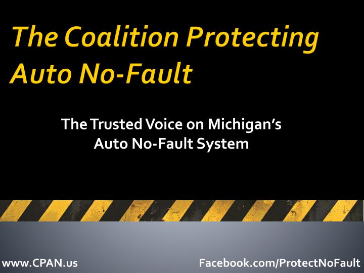 the coalition protecting auto no fault n.