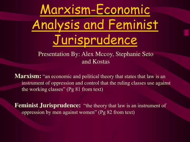 feminist theory thesis statement