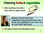 cleaning fruits vegetables1