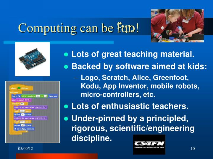 Computing can be