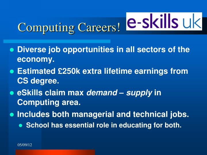 Computing Careers!