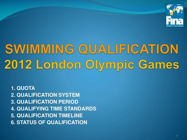 swimming qualification 2012 london olympic games n.