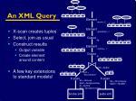 an xml query