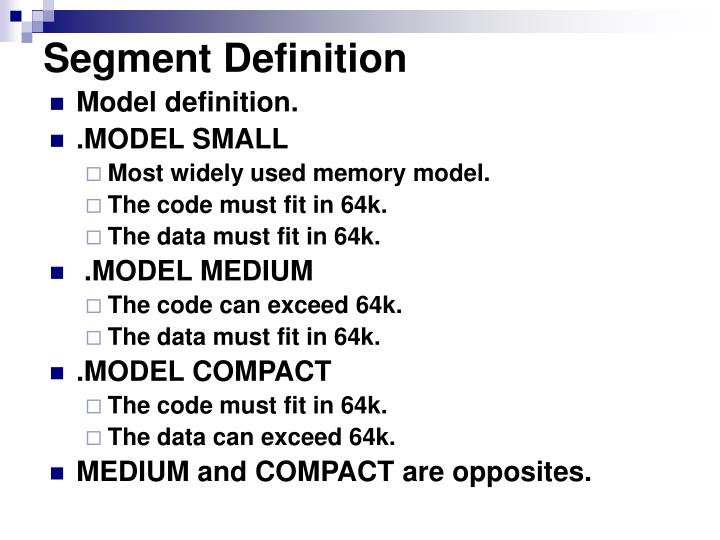 Segment Definition
