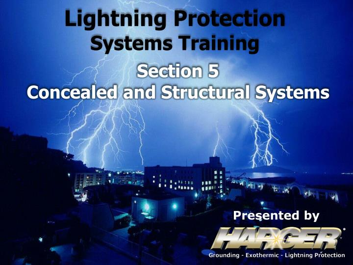 Ppt Lightning Protection Systems Training Powerpoint Presentation Free Download Id 1705649