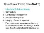 1 northwest forest plan nwfp