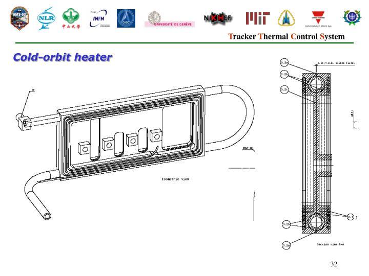 Cold-orbit heater