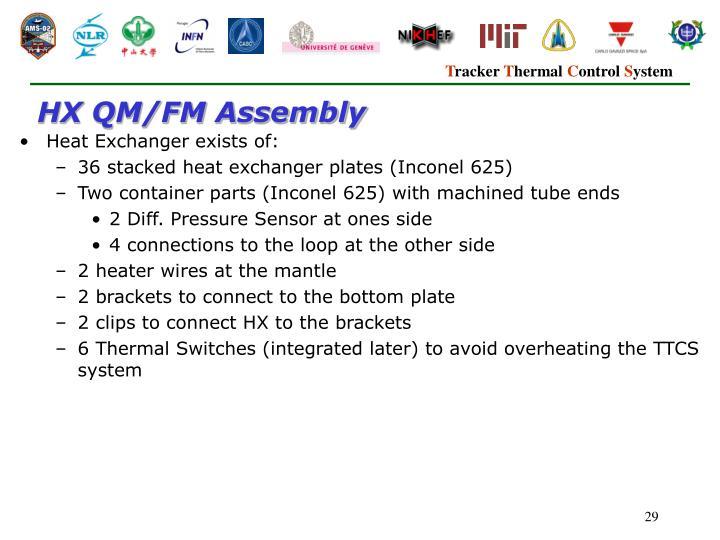 HX QM/FM Assembly