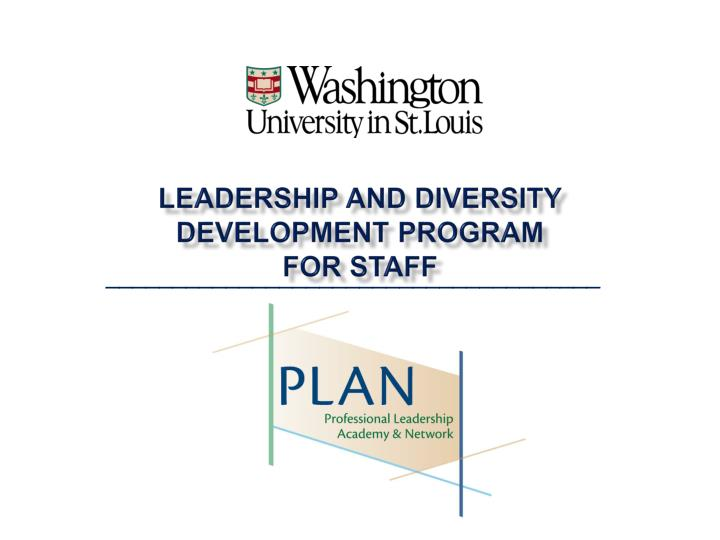 leadership and diversity development program for staff n.