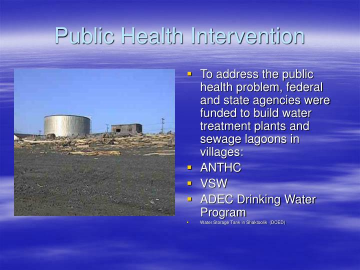 Public health intervention