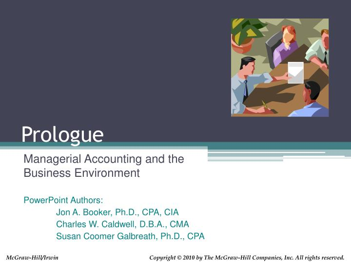 managerial accounting and cost concepts chapter