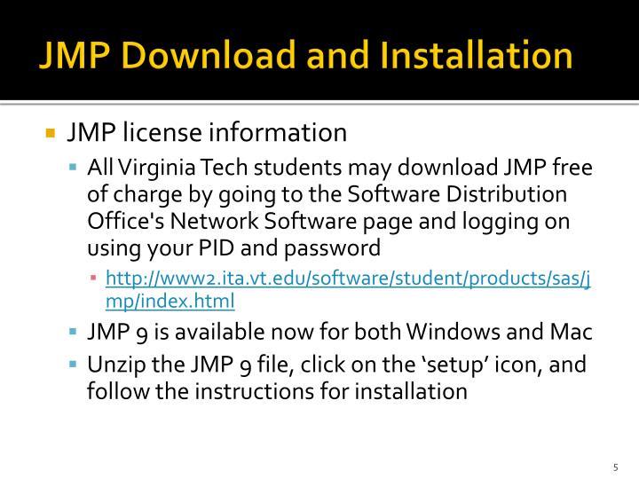 jmp license file download