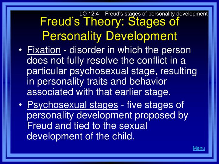 Freud Five Five Stages Of Development Le cinque fasi di Freud di-1283