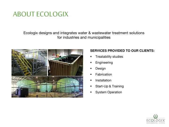ABOUT ECOLOGIX