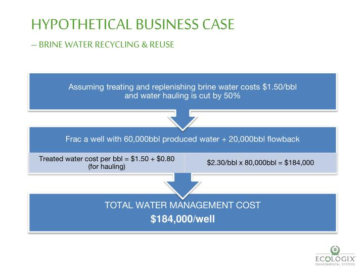 HYPOTHETICAL BUSINESS CASE