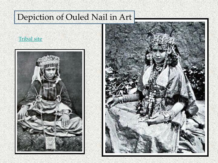 Depiction of Ouled Nail in Art