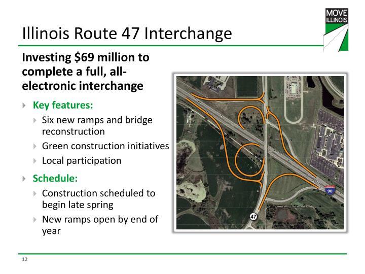 Illinois Route 47 Interchange