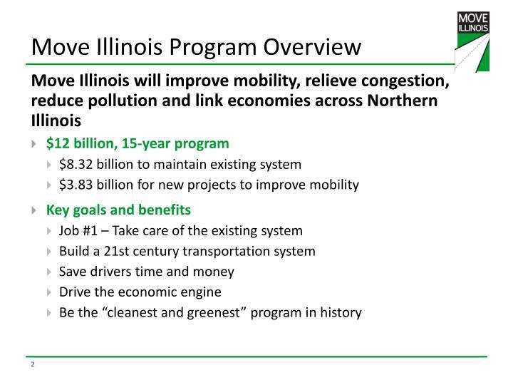 Move illinois program overview