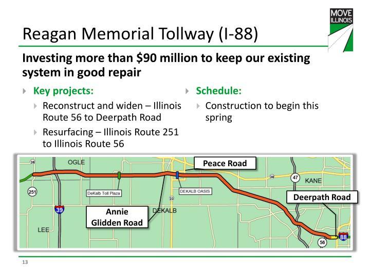 Reagan Memorial Tollway (I-88)