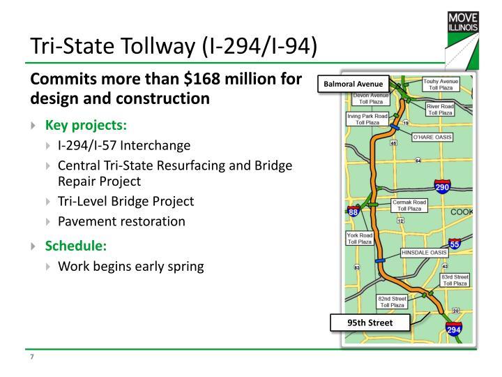 Tri-State Tollway (I-294/I-94)