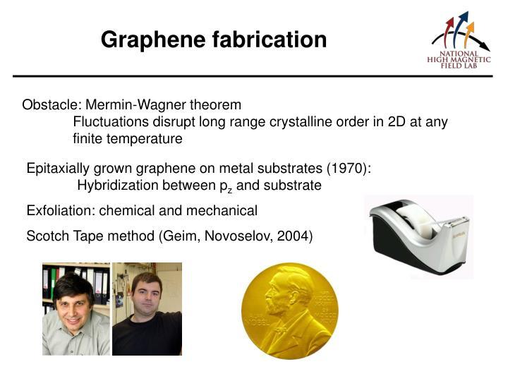 Graphene fabrication