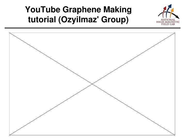 YouTube Graphene Making tutorial (