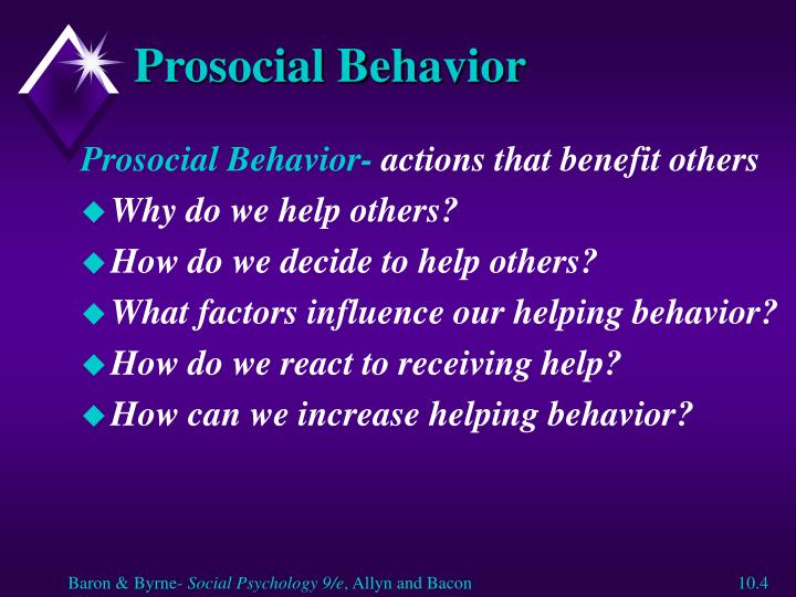 an analysis of the prosocial behavior and the principle of helping to people National academy of sciences contact feedback we show that mere incidental low status triggers a prosocial orientation manifested in helping behavior the 14 attributes were subjected to a principal component analysis to identify status-specific behavior signaling.