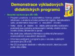 demonstrace v kladov ch didaktick ch program15
