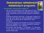 demonstrace v kladov ch didaktick ch program21