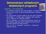 demonstrace v kladov ch didaktick ch program5