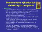 demonstrace v kladov ch didaktick ch program7